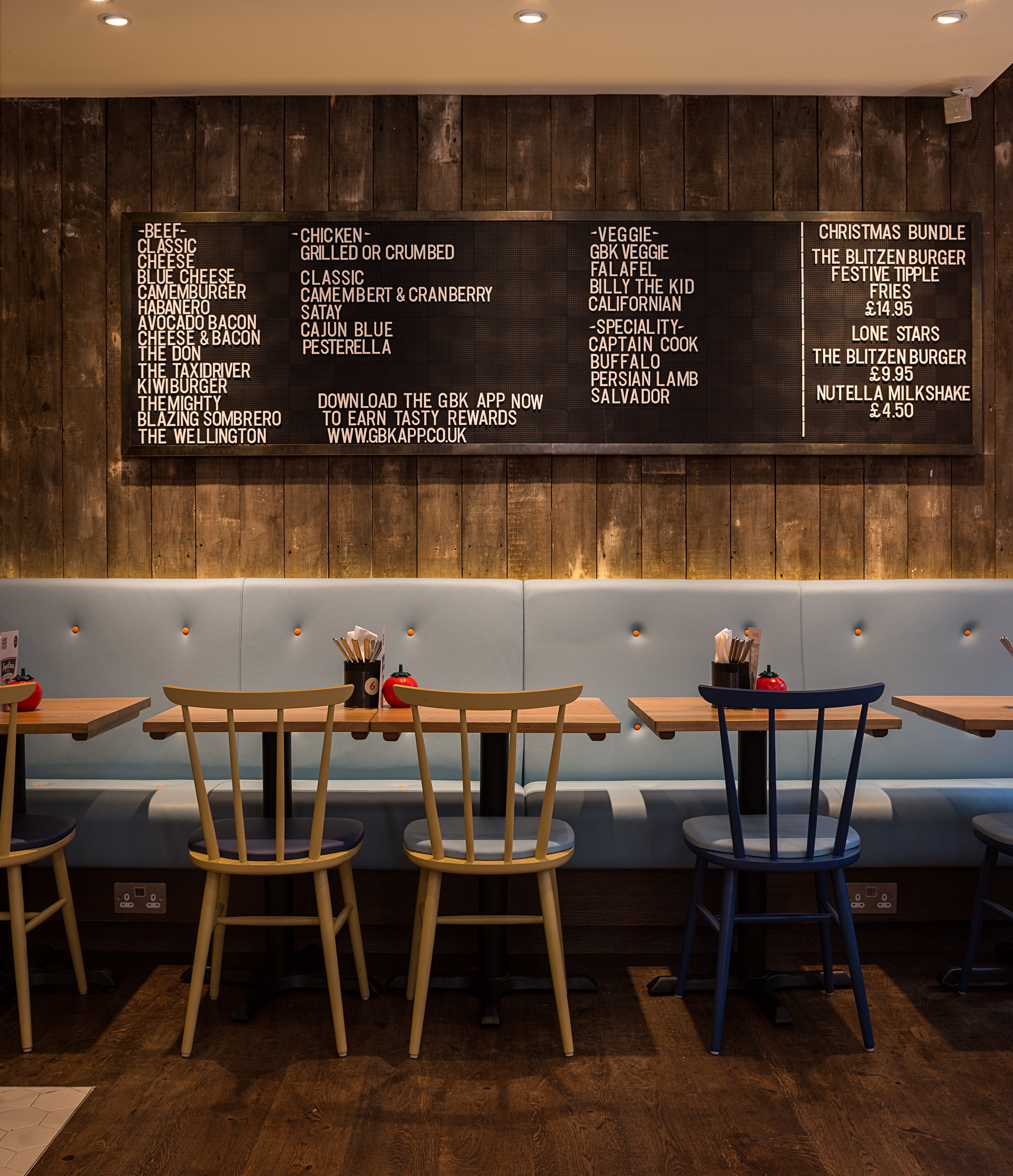 Burger Kitchen: Yarwood Leather