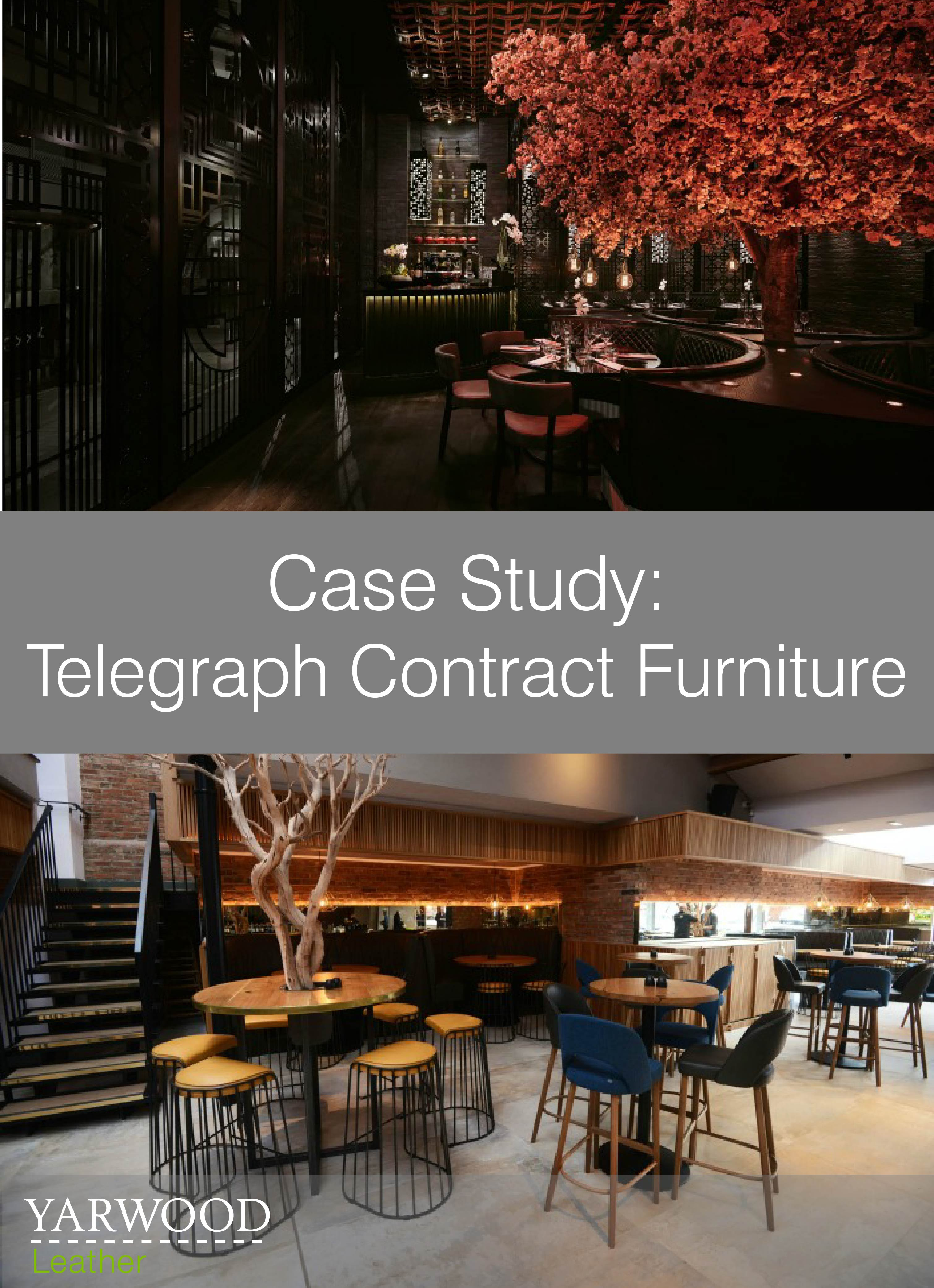 Manchester bar and restaurant projects featuring the work of Telegraph Contract Furniture
