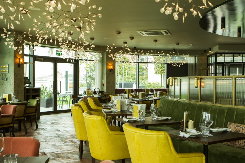 Brasserie Blanc - Fulham Reach in Yarwood Leather Mustang Mustard