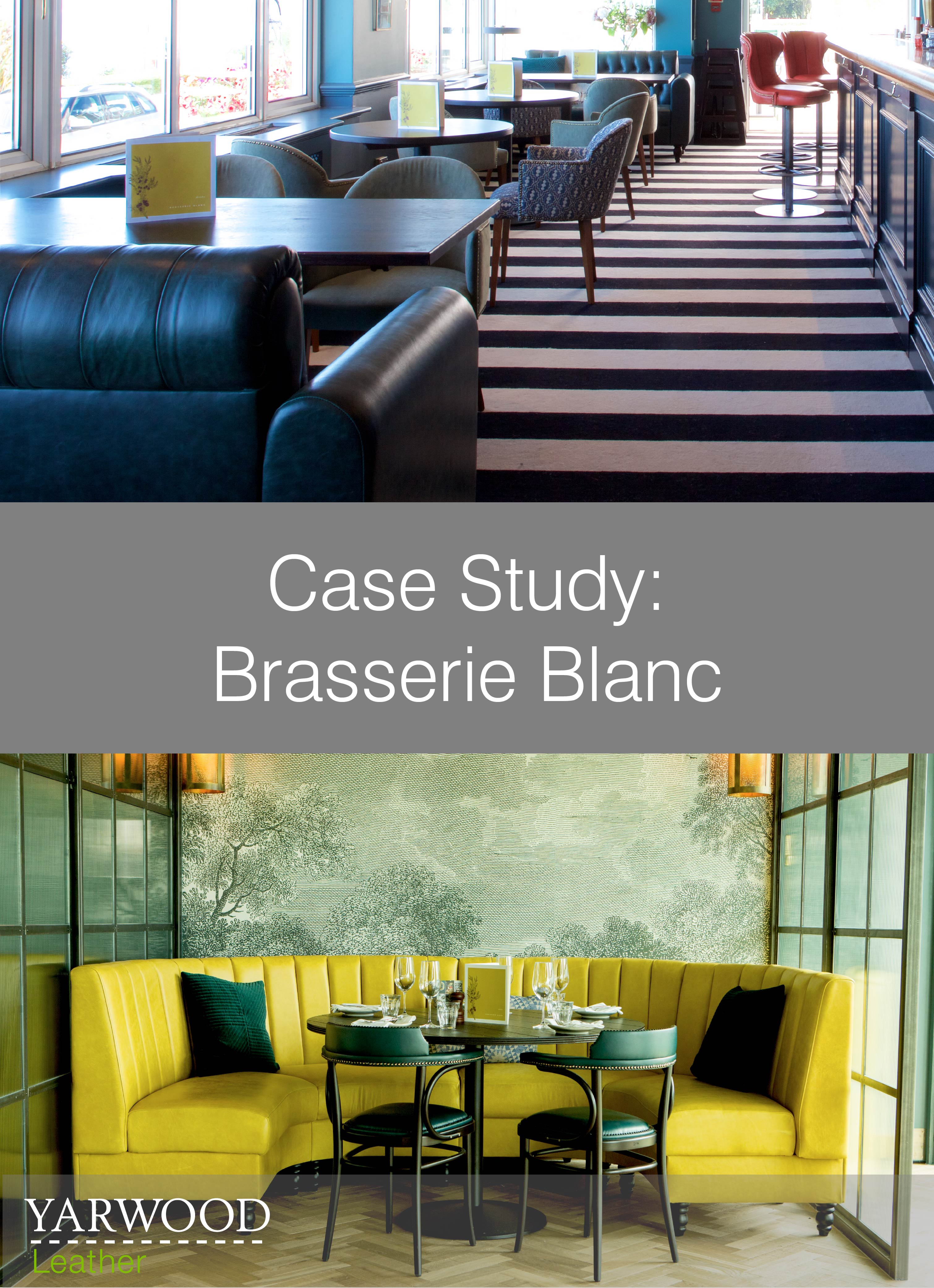 Cool booth seating and relaxing sofas feature in two new Brasserie Blanc restaurants, read our latest Case Study