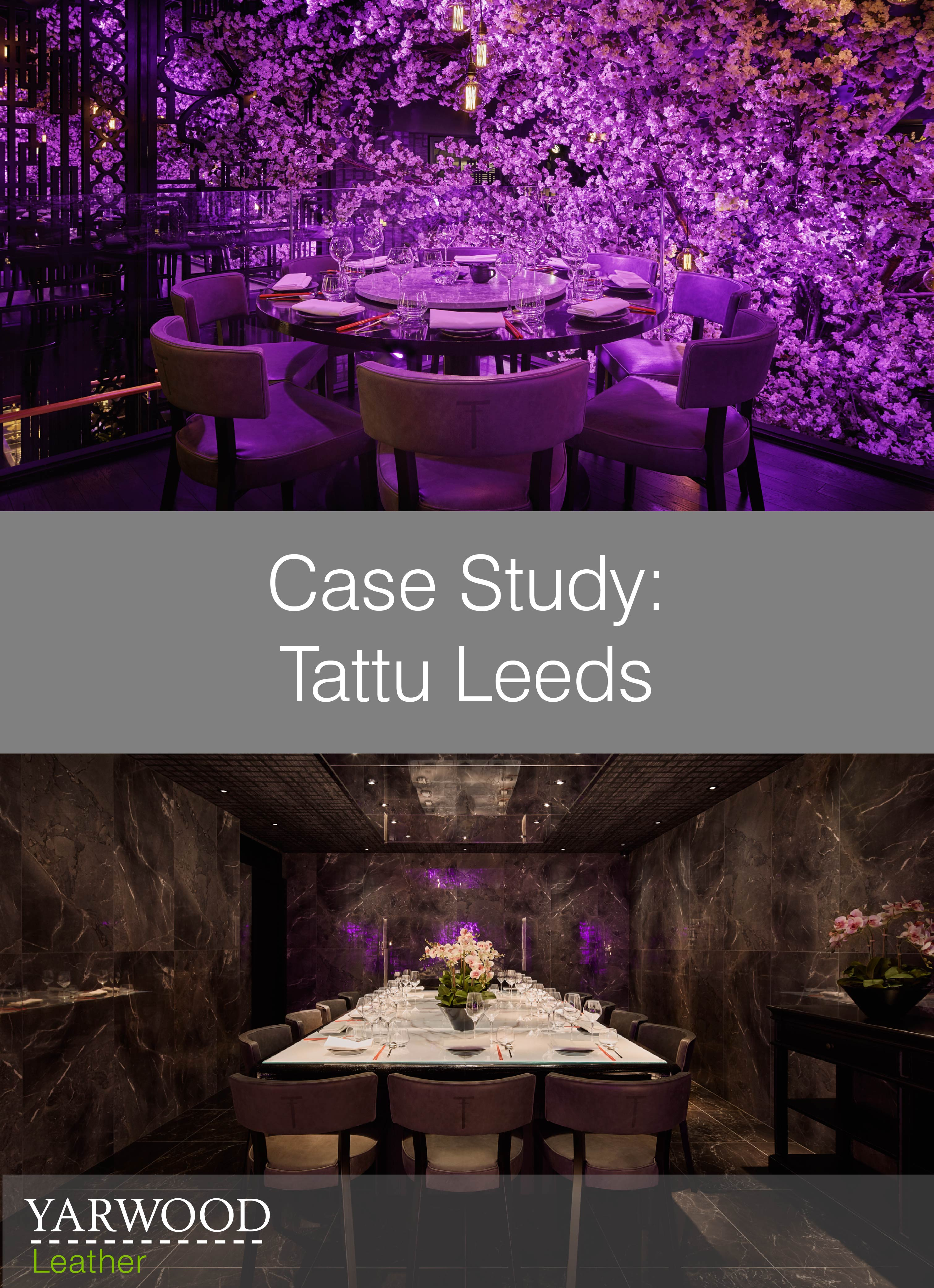 Chinese cuisine in a setting inspired by body art, read about Tattu Leeds